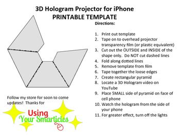 Invaluable image pertaining to printable holograms