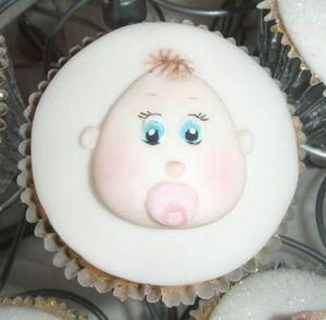Karen Davies Baby Cupcake Mould