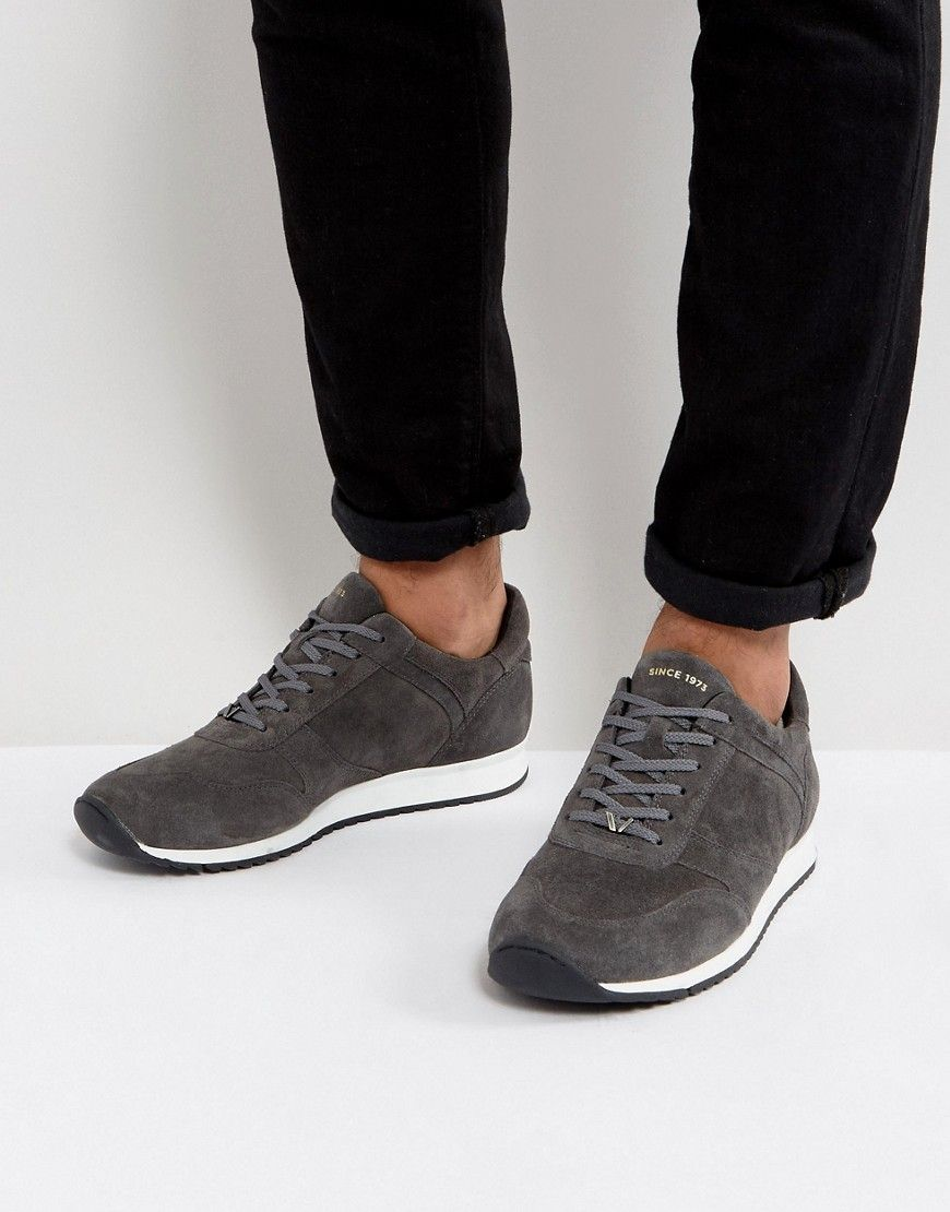 91d500f5e6 Vagabond Apsley Suede Runner Sneakers - Gray