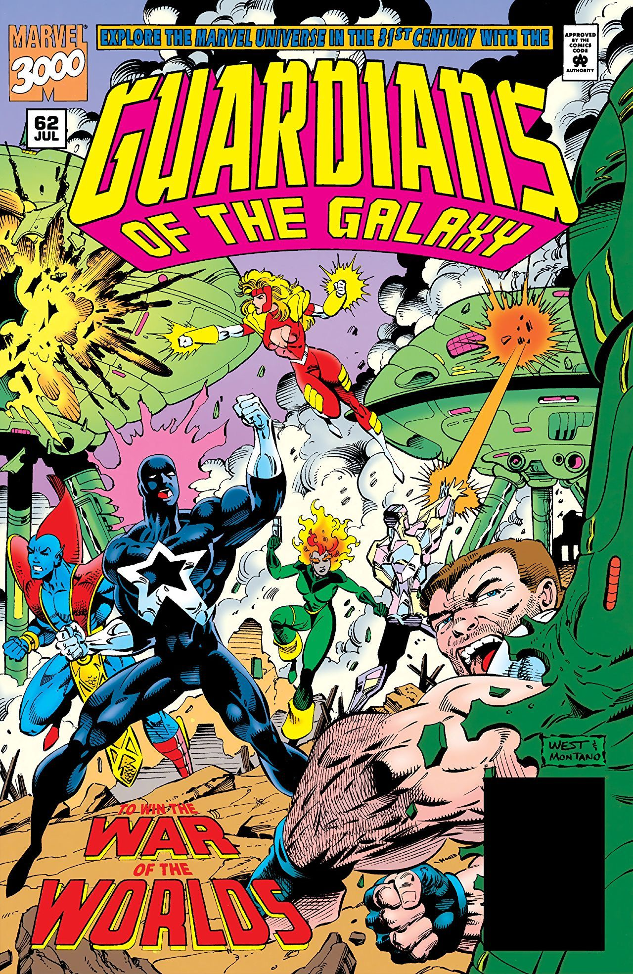 Guardians Of The Galaxy 62 Endgame July 1995 Guardians Of The Galaxy Marvel Comic Books Marvel Comics