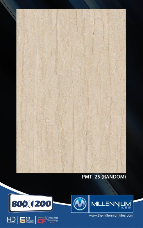 Millennium Tiles 800x1200mm (32x48) PGVT Porcelain Matt XXL Floor Tiles Series  - PMT_25
