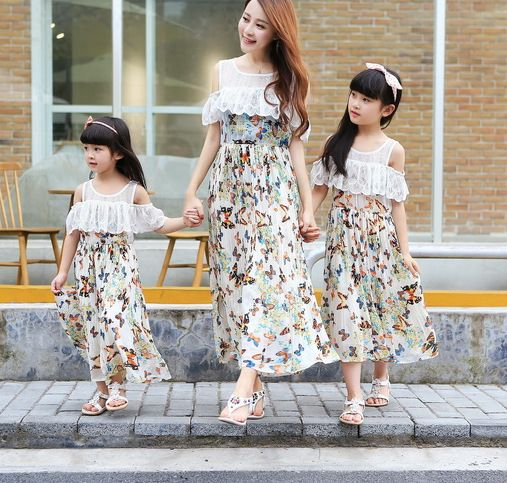 Matching Mother Daughter Clothes Summer