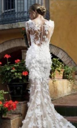 Pronovias Capricornio 4 000 Size 4 Used Wedding Dresses Used Wedding Dresses Dresses Wedding Dresses