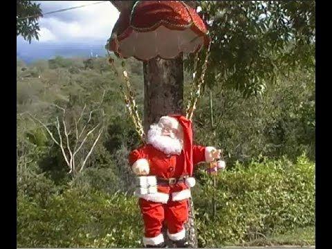Manualidades navideñas. Papa noel paracaidista | masnvdad ...