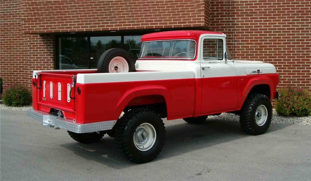 1959 Ford Truck Barrett Jackson Lot 929 1959 Ford F 100 4x4