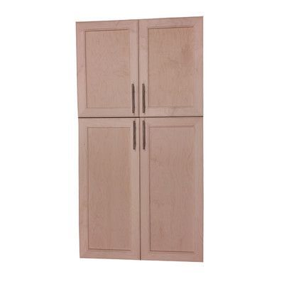 """WG Wood Products Village 51"""" Recessed Kitchen Pantry"""