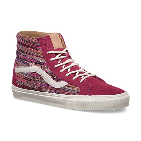 Vans SK8HI REISSUE California Collection CA italien weave rhododendron