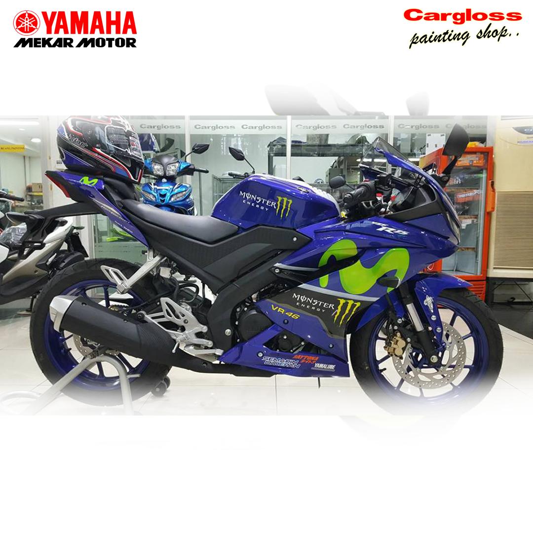 Katalog Modifikasi Motor Yamaha R15 Custom Tampil Beda Bersama Produk Painting Keren