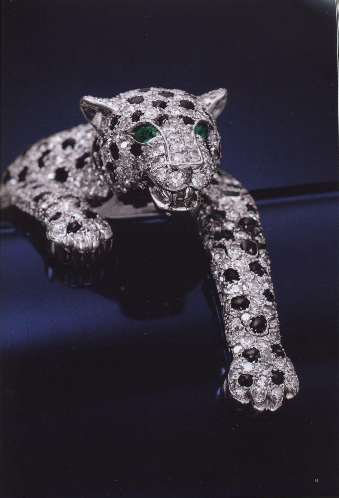 Cartier panther bracelet | Ornamentations | Pinterest | Joya