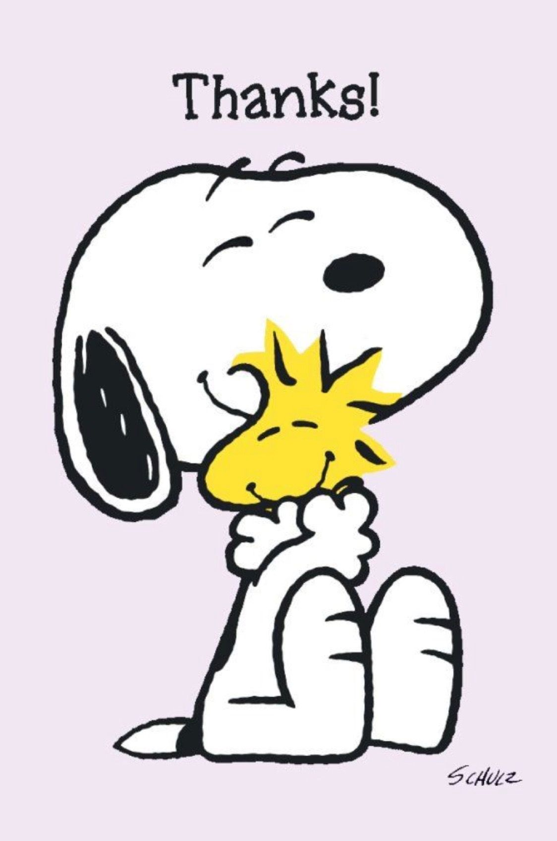 Image result for snoopy- woodstock  thank you