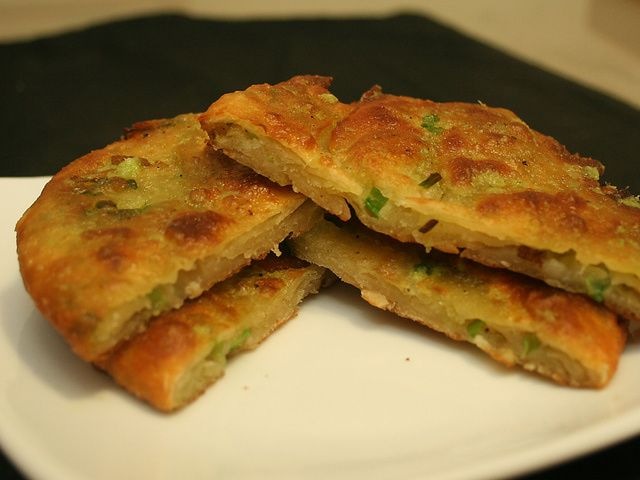 Make your own flaky and delicious scallion pancakes