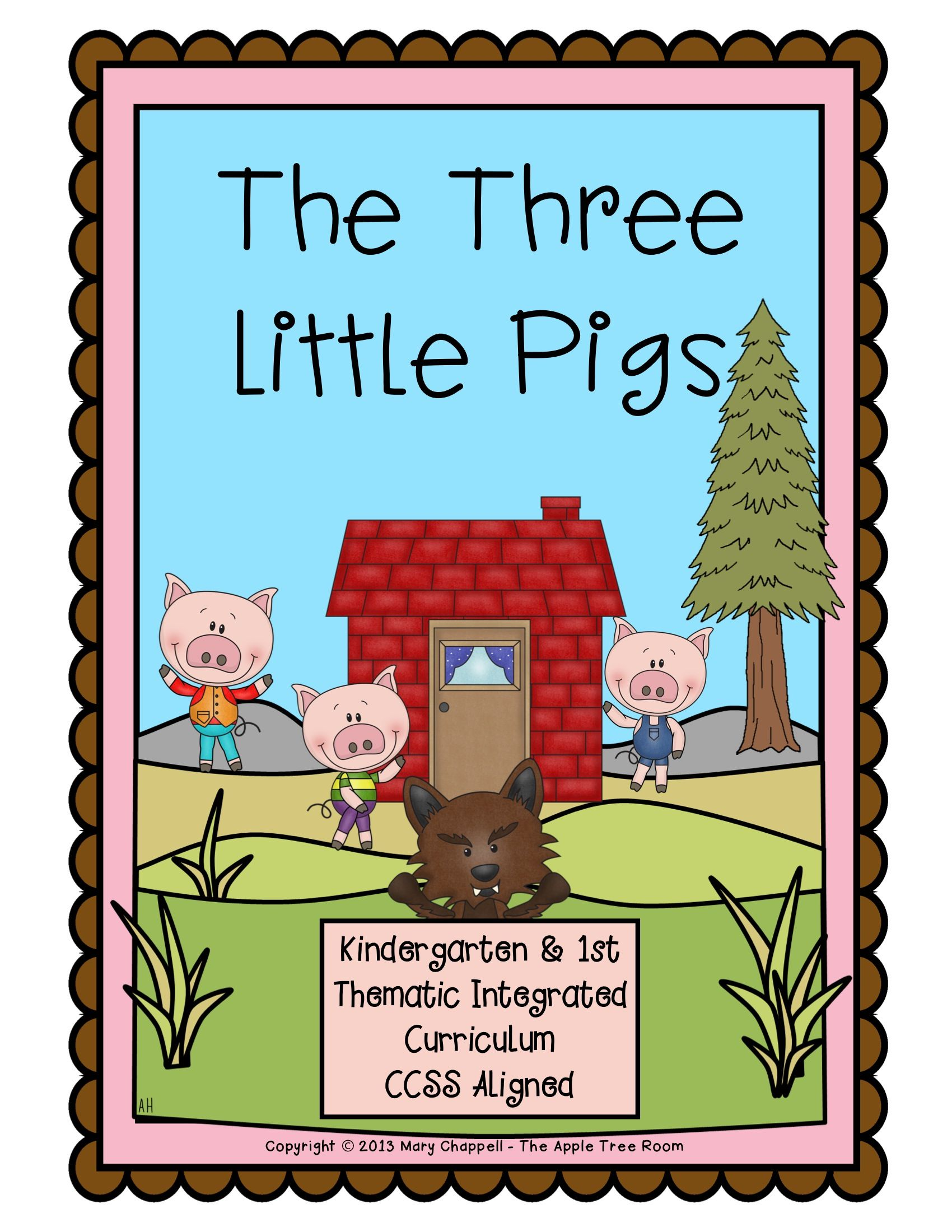 The Three Little Pigs Activities with CCSS Reading, Writing, and ...