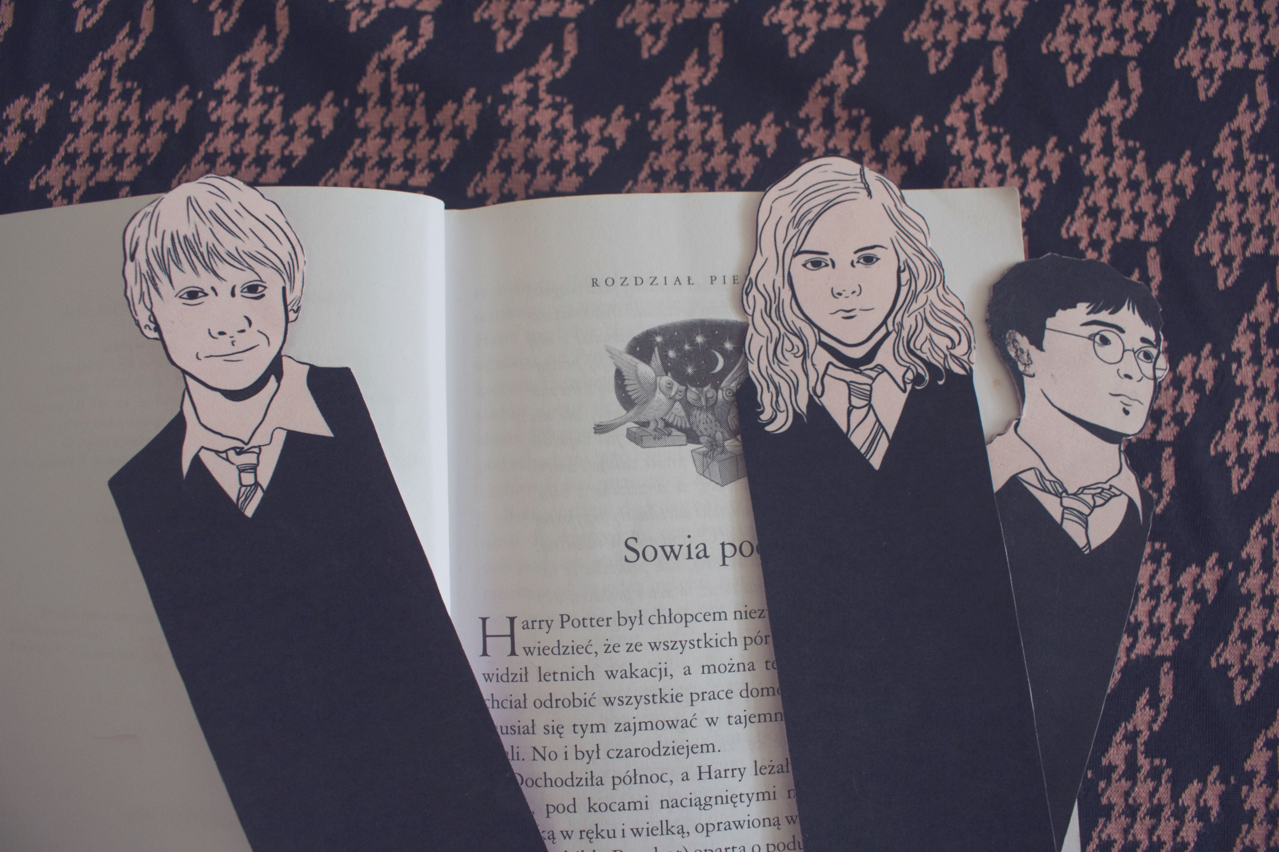 Free Harry Potter Bookmarks
