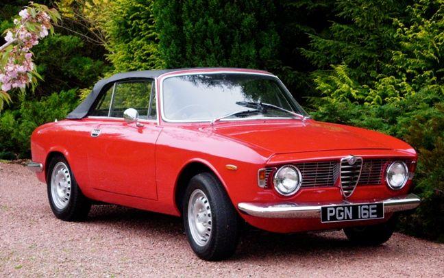1967 Alfa Romeo Giulia Sprint Gtc Convertible Klasik Arabalar Arabalar