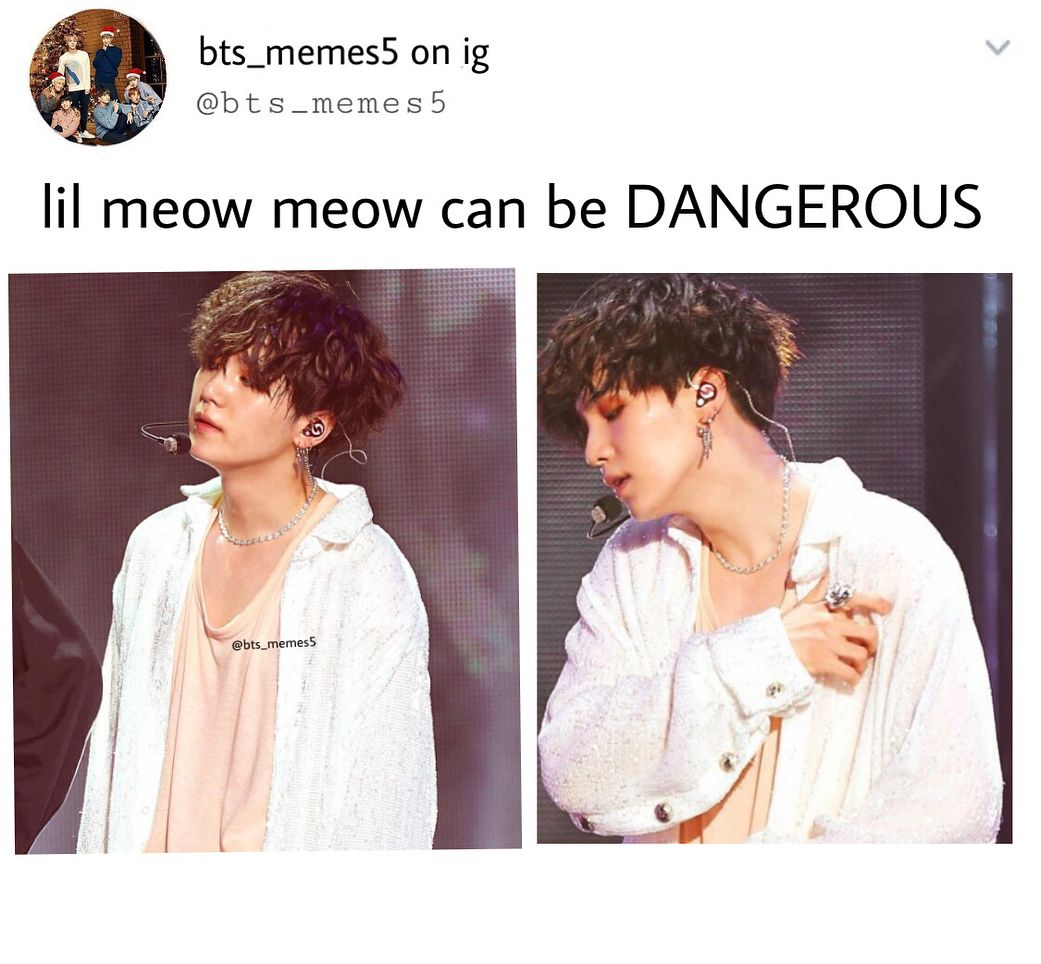 NOT LIL MEOW MEOW ANYMORE EH Bts Pinterest BTS Kpop