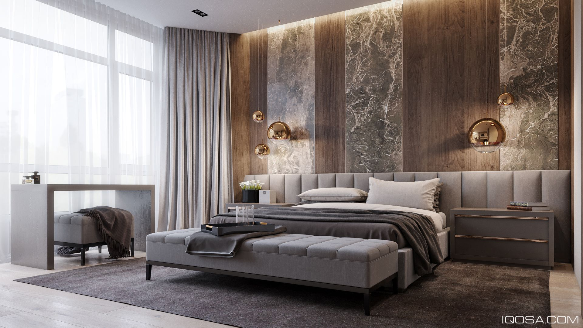 Best Pechersky Apartment On Behance Deco Chambre A Coucher 400 x 300