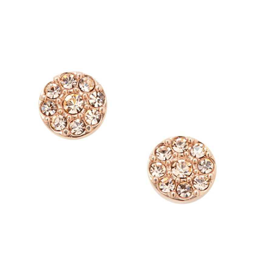 d5a5a99c234 Disc Rose-Tone Studs | Accessories | Pinterest | Jewelry, Earrings ...