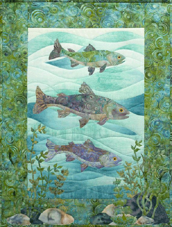 Mckenna Ryan Quilt Pattern Naturally Mckenna Fish Swim Team