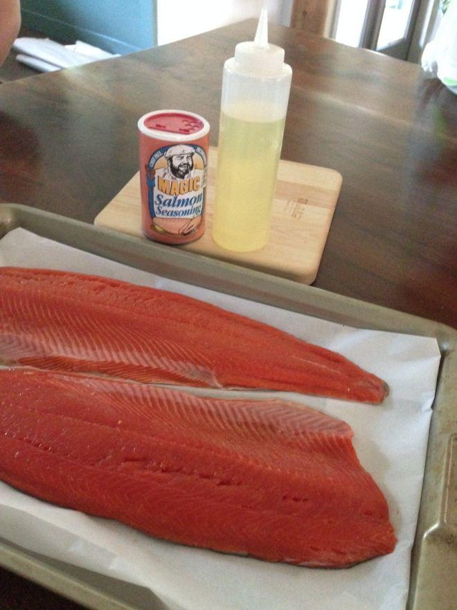 Baked Wild Caught Sockeye Salmon Recipe Food Ideas Pinterest