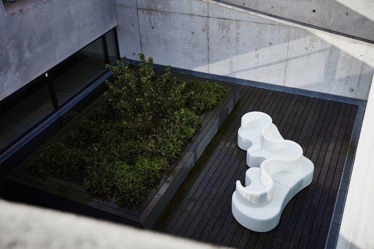 Modulares Anbausofa aus Polyethylen Alles zu Draußen Pinterest - designer gartensofa indoor outdoor