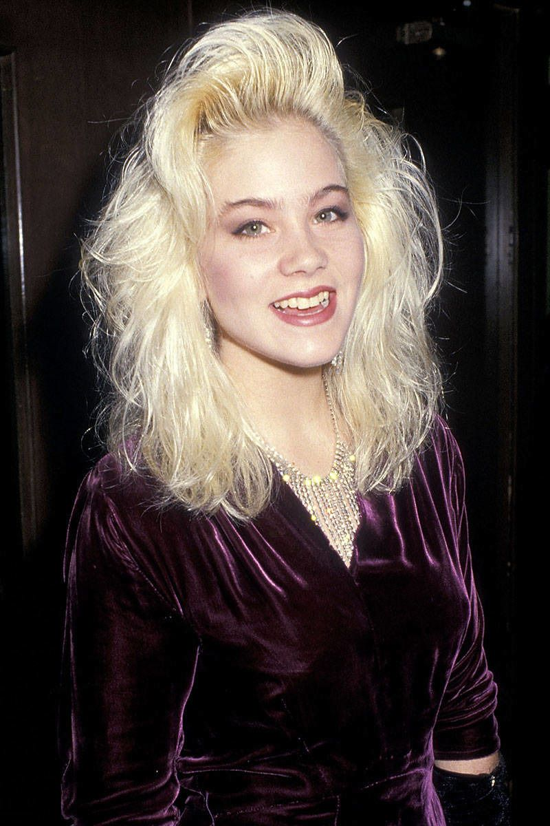 As Ditzy Kelly Bundy On Marriedwith Children Applegate Wore Her