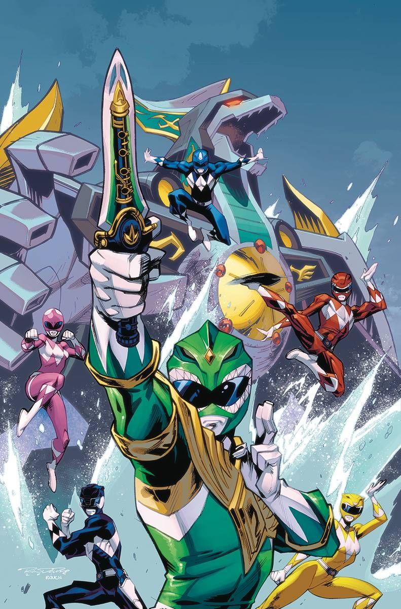 Mighty Morphin Power Rangers #7 by Khary Randolph