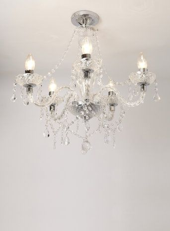 Flush Chandelier Chrome bryony 5 light semi flush chandelier bhs house ideas chrome bryony 5 light semi flush chandelier bhs audiocablefo