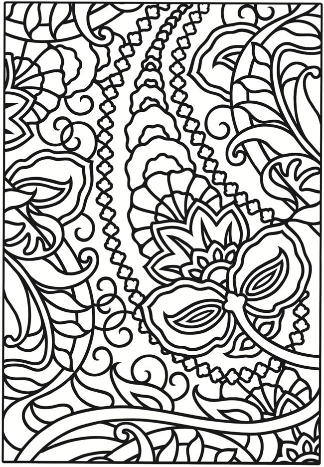 Welcome to Dover Publications | Kleurplaten | Pinterest | Colorear ...