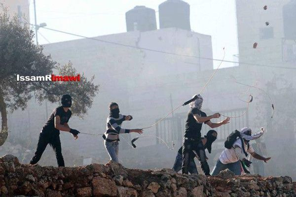 #PHOTO: Clash outside #Israeli occupations Ofer prison on the #WestBank 11th October. #Palestine #Israel