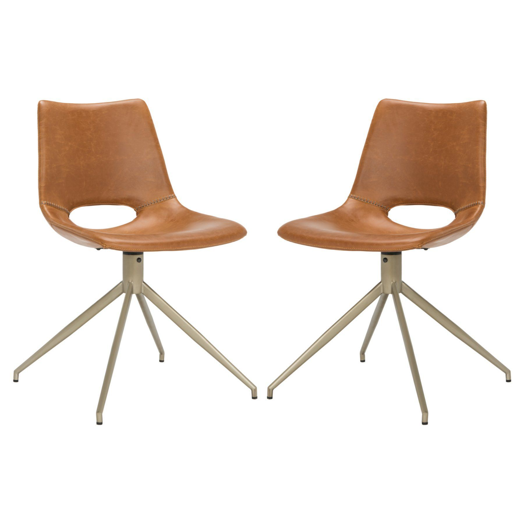 Safavieh danube swivel dining chair set of 2 ach7001a set2