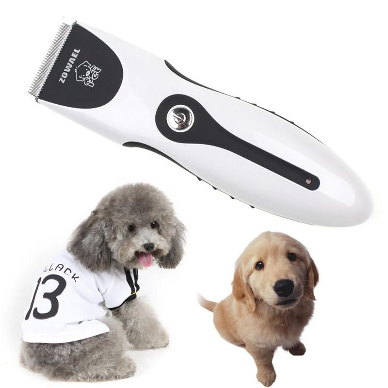 Rechargeable Cat Dog Hair Trimmer Electrical Pet Hair Clipper