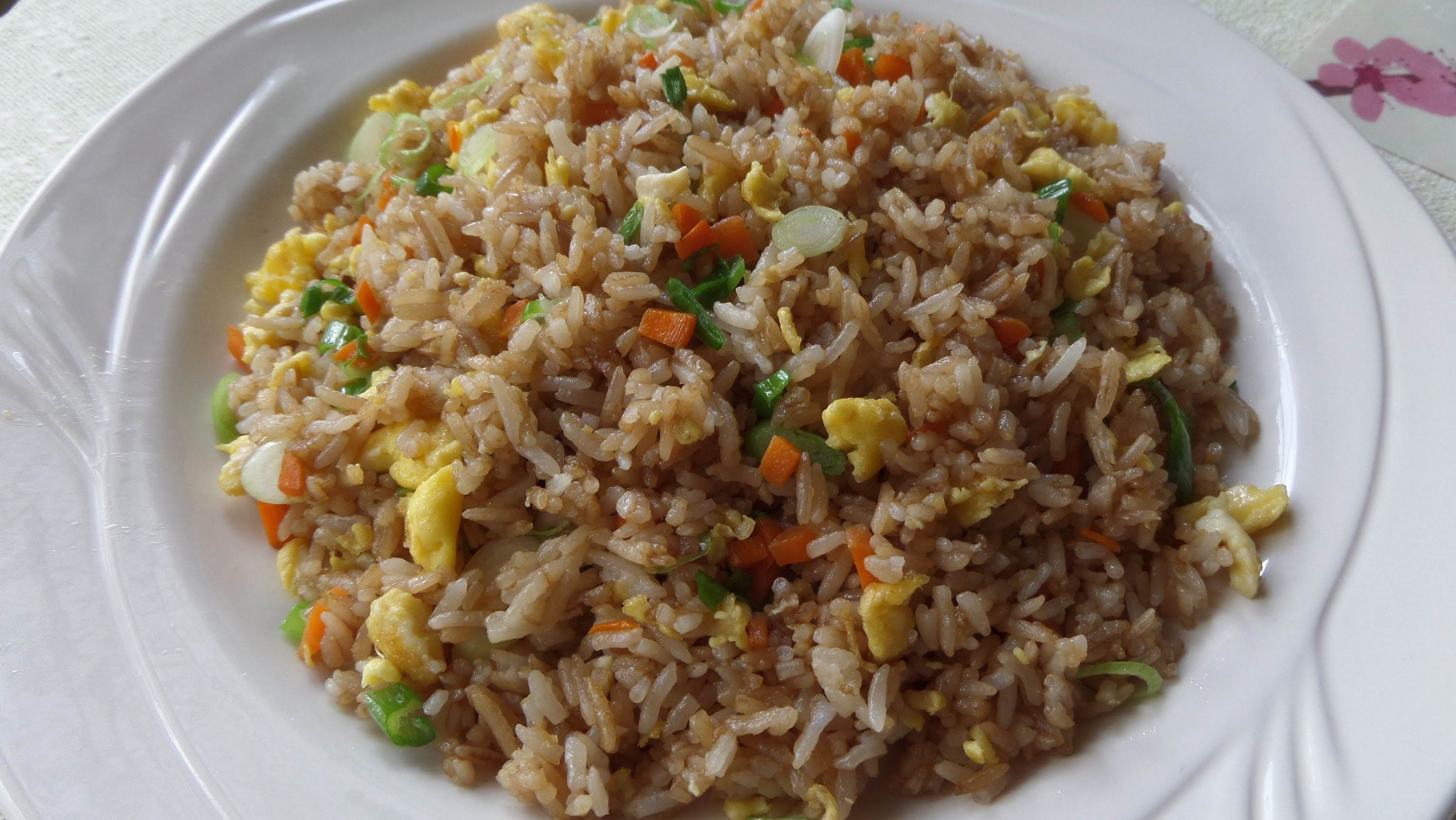 How to make fried rice with soy sauce chow rice an easy to make fried rice dish with soy sauce egg carrots and onion the taste is similar to restaurant chinese but it can easily be made with home ccuart Image collections