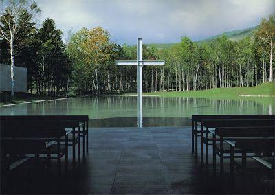 Iglesia en el Agua - Tadao Ando
