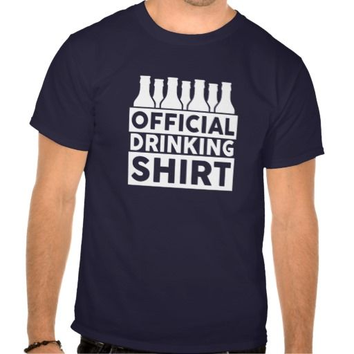 Official Drinking Shirt