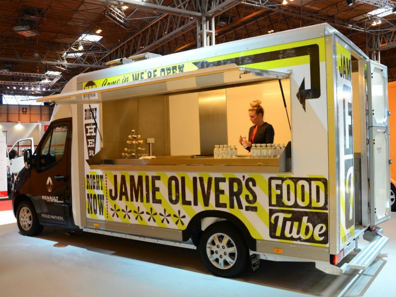 Luton Van Conversion Catering