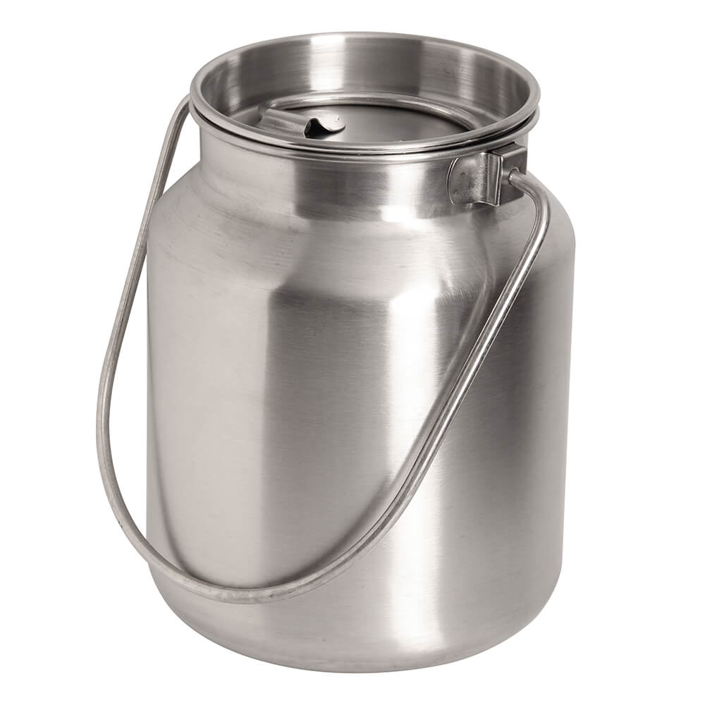 1 Gallon Stainless Steel Bucket With Lid In 2020 Stainless Steel Food Storage Stainless Steel Bakeware Steel Bucket