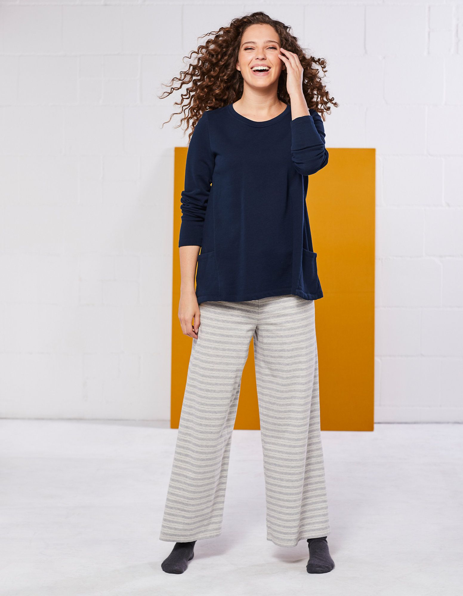 Deerberg Jersey Hose Domenika Hosen Kleidung Mode