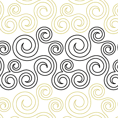 Denises Spirals Digital Sr Dsdigital Quilt Ideas Pinterest