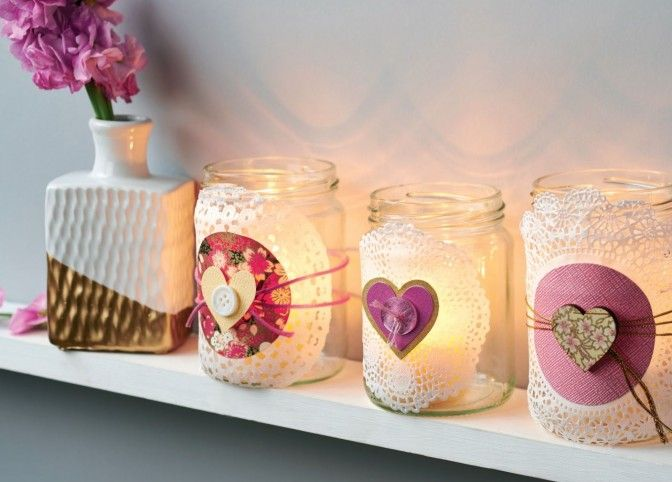 Decorating Jelly Jars Awesome Create A Gorgeous Light Display With Our Bonus Jar Jam Candle Design Decoration