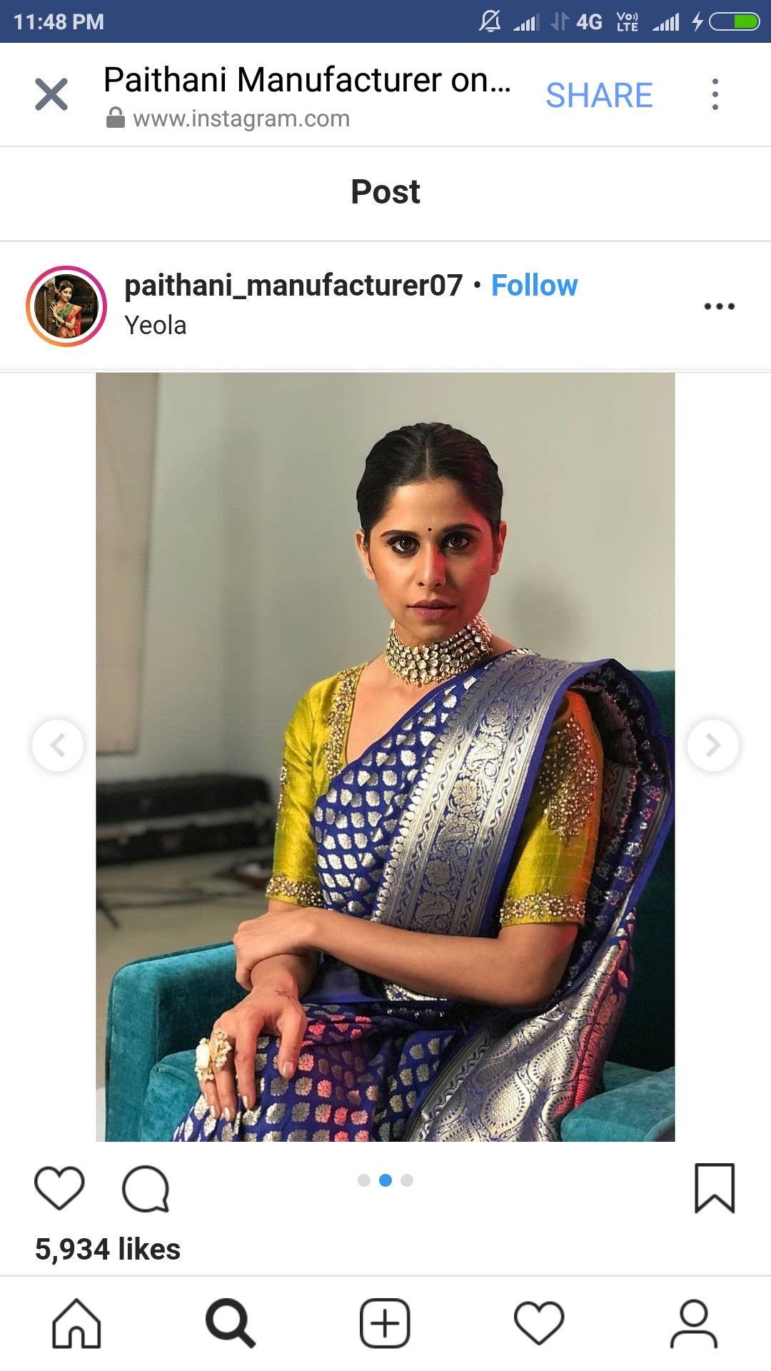 Yeola paithani saree images pin by rasika kambli on sarees n blouses in   pinterest
