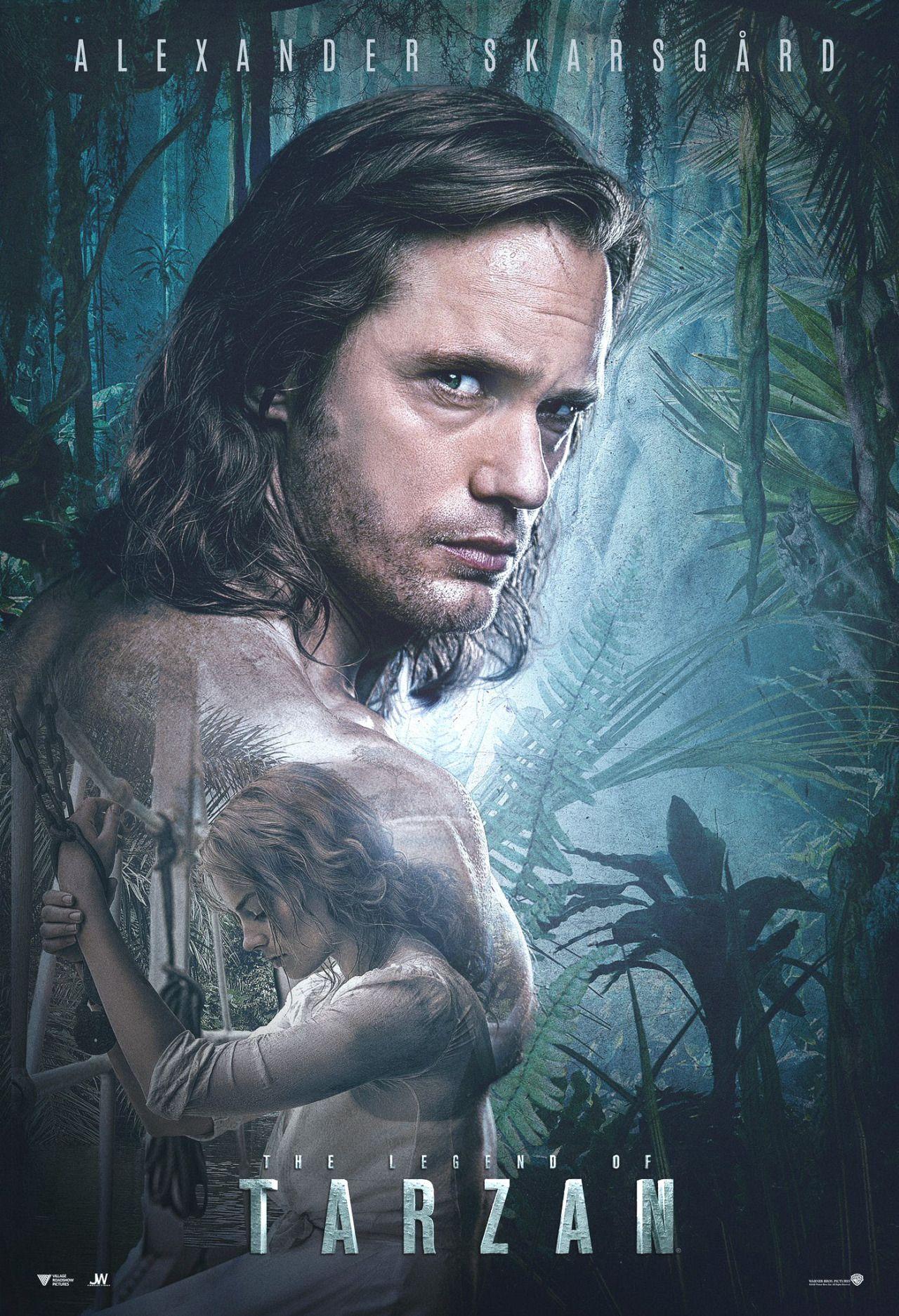 The legend of tarzan alexander skarsgard pinterest - Tarzan pelicula completa ...