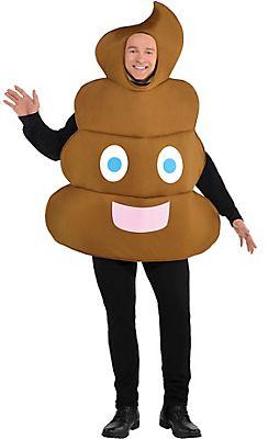 7e234d4d083 Adult Poop Emoji Costume   funny   Emoji halloween costume, Emoji ...