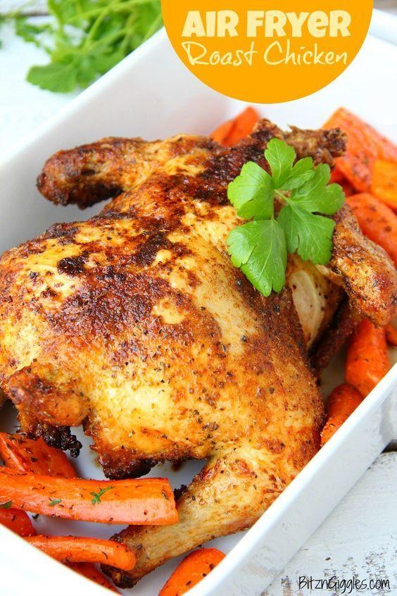 Air Fryer Roast Chicken Air frier recipes, Air fryer