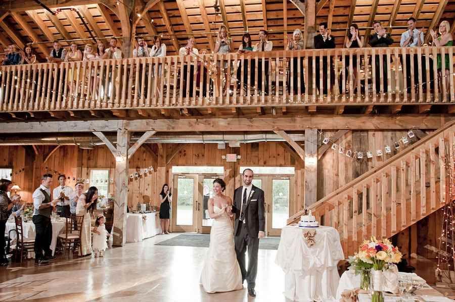 County line orchard wedding hobart in barn door