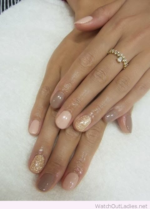 ombre-on-the-natural-nails-simple-classy-LED-polish-manicure-OPI ...