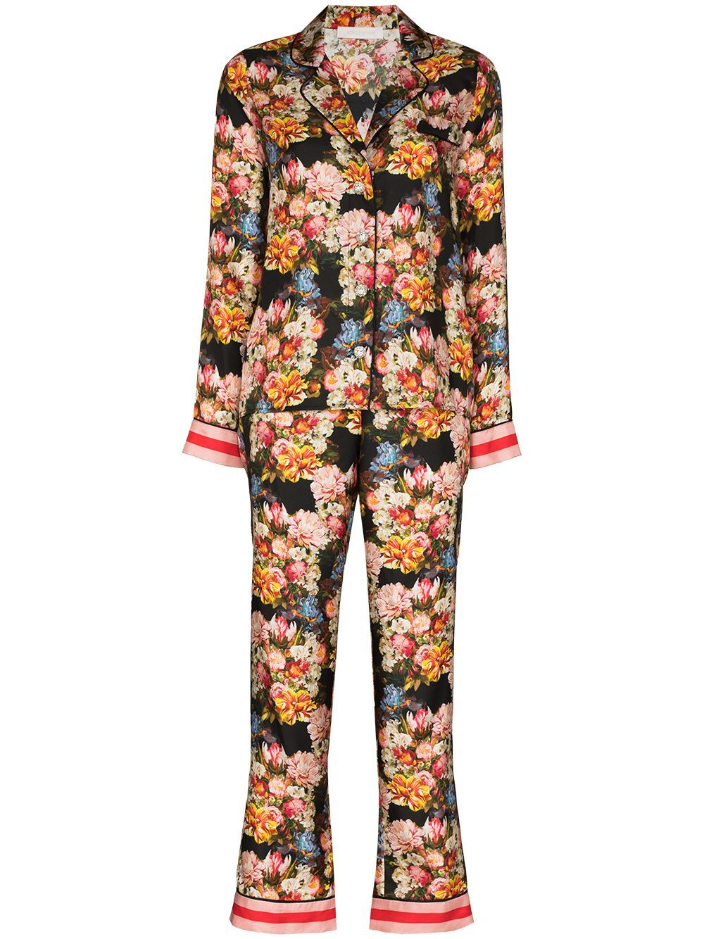 Borgo De Nor Eden floral-print two-piece pyjamas -
