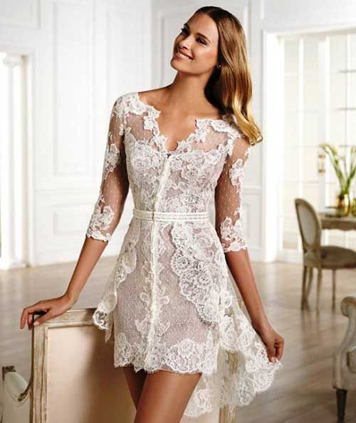 88f840a3eb886 30 Vestidos para Casamento Civil p/ Noivas: Fotos de Modelos ...