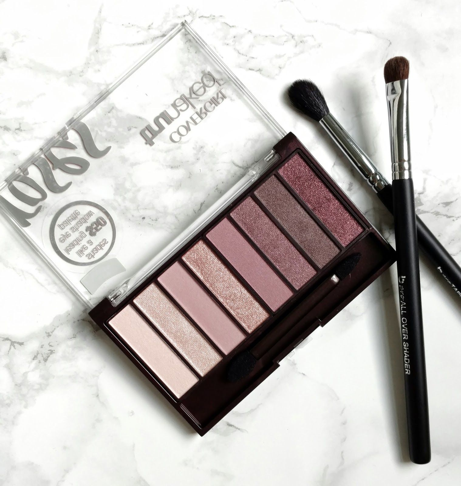 Covergirl TruNaked Roses Palette Review Cover girl