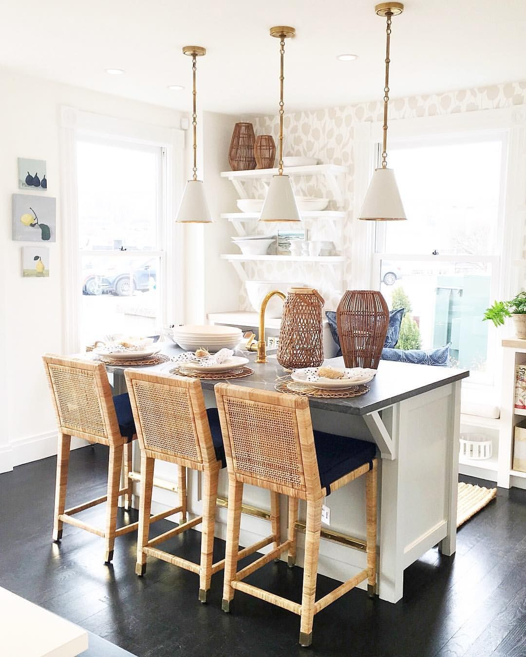 30 Beautiful And Inspiring Light Filled Kitchens With: Pin By Whitney Renee On For The Home