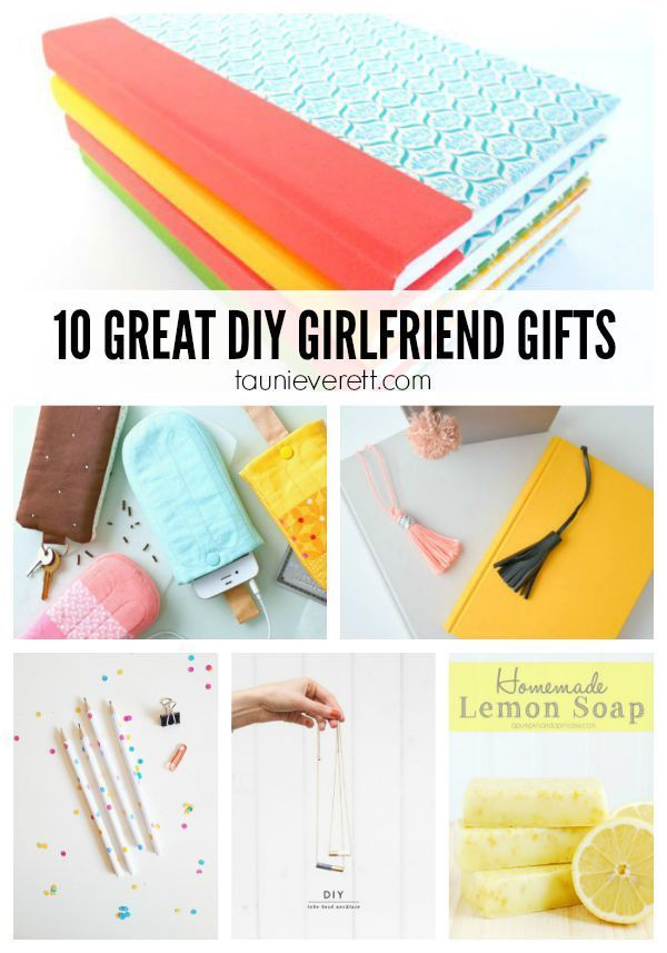 10 great diy gifts for girlfriends adorable gift ideas that can be made inexpensively quickly - Homemade Christmas Gifts For Girlfriend